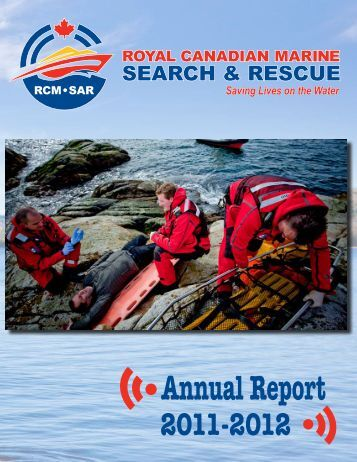Annual Report 2011-2012 - Canadian Coast Guard Auxiliary ...