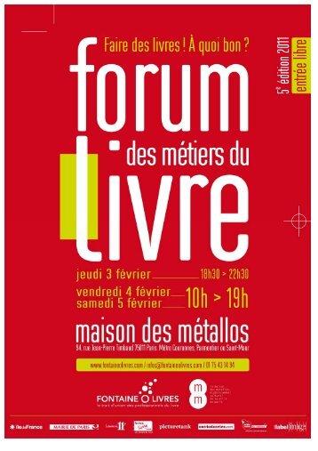Dossier de presse FML 2011 - ActuaLitté