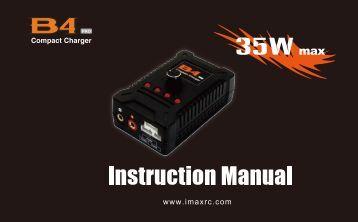 B4 Pro manual - Imaxrc