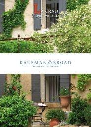 Appartements neufs à La Crau - programme ... - Kaufman & Broad