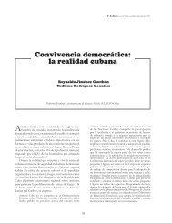 Convivencia democrática: la realidad cubana - Temas