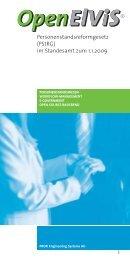 Personenstandsreformgesetz (PStRG) - PROFI Engineering ...