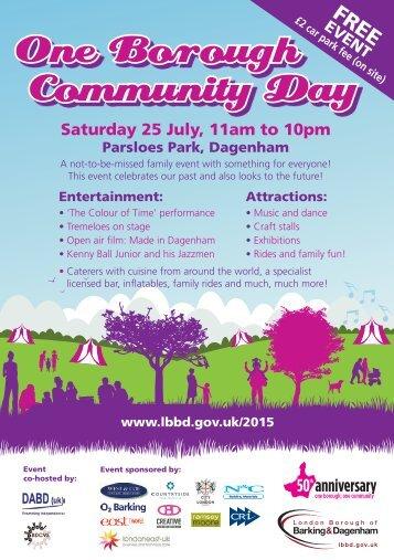 One-Borough-Community-Day