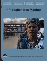 Spring 2011 - Project Ploughshares