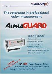 professional radon monitoring