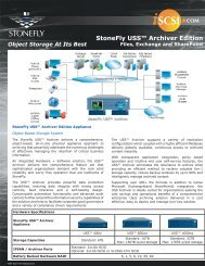 StoneFly USS™ Archiver Edition