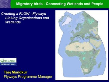 FLOW flyway twinning programme - Wetland Link International