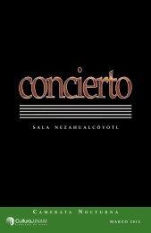 Camerata Nocturna - Música UNAM