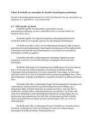 Utkast til forskrift om rammeplan for bachelor ... - Regjeringen.no