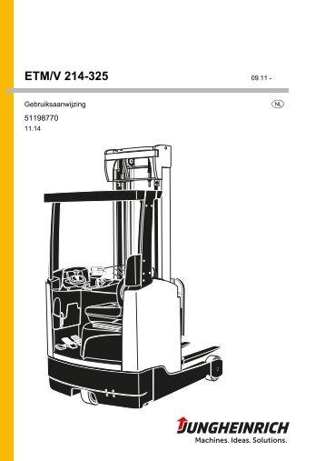 ETM/V 214-325 - Jungheinrich