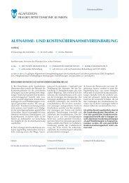 Patientenformular Aufnahme - AGAPLESION MARKUS ...