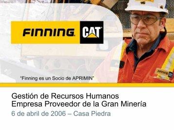 Presentacion del Vicepresidente de Recursos Humanos de Finning ...