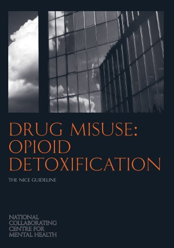 Drug misuse: Opioid detoxification - National Institute for Health and ...