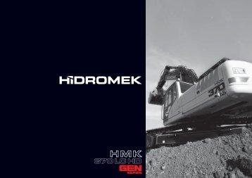 370 LC HD Gen de la série - Français Catalogue - Hidromek