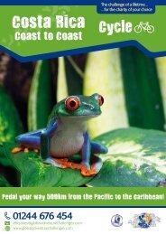 Costa Rica Coast to Coast Cycle Challenge - Global Adventure ...