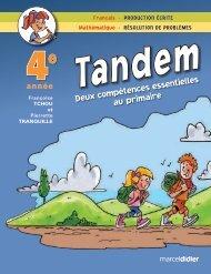 Consulter un extrait du livre en pdf - Les Éditions Marcel Didier