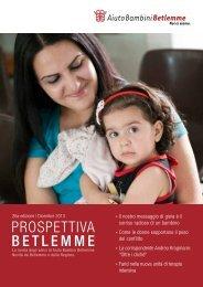 PROSPETTIVA BETLEMME - Aiuto Bambini Betlemme