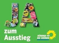 Gemeinsamer Flyer der Metropolabgeordneten zu Stuttgart 21