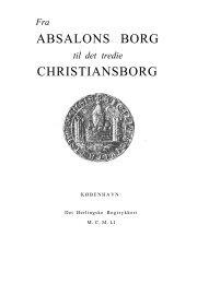 Fra Absalons Borg til det tredie abbyy 10.pdf - Hovedbiblioteket.info
