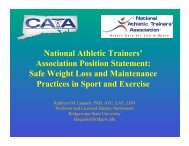 Safe Weight Loss and Maintenance Practices in Sport and Exercise