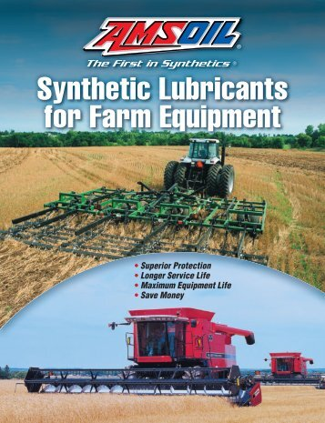 Synthetic Lubricants and Filters
