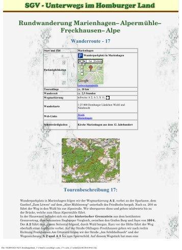 SGV Homburgerland: Wandern, Natur, Geselligkeit und Brauchtum ...