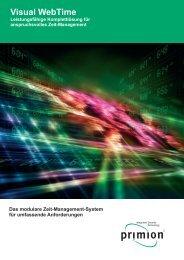 Visual WebTime neu A4.cdr - primion Technology AG
