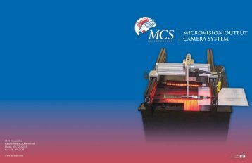 MICROVISION OUTPUT CAMERA SYSTEM - MCS