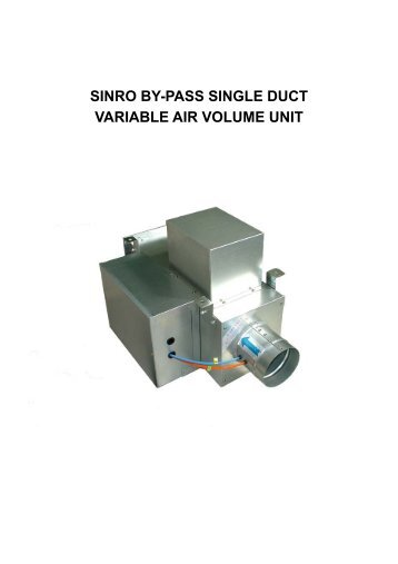 Variable Air Volume : Trane company box type