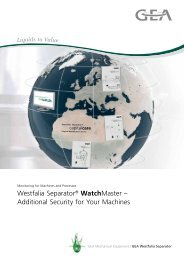 Westfalia Separator® WatchMaster – Additional Security for Your ...