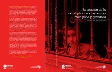 Respuesta de la salud pública a las armas biológicas y químicas