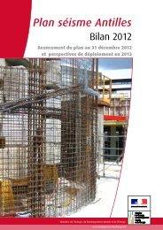 Plan séisme Antilles - Ministère du Développement durable