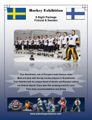 Hockey Exhibition - Selects Sports