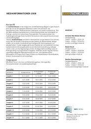 mediainformationen 2008 - Pressrelations GmbH