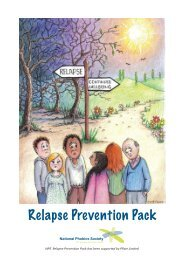 Relapse Prevention Pack Has - Anxiety UK