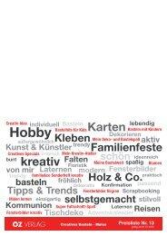 Preisliste Nr. 13 - OZ Verlag