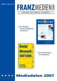 Mediadaten 2007 - Pressrelations GmbH