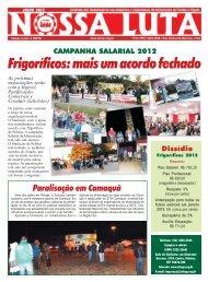 jornal nossa luta julho.p65 - Sindicato dos Trabalhadores nas ...