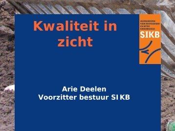 Bodem en archeologie - SIKB