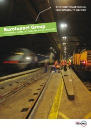 2012 Corporate Social Responsibility Report of Eurotunnel Group