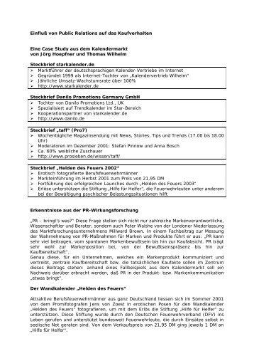 Der Einfluss von PR auf das Kaufverhalten - Prdienst.de