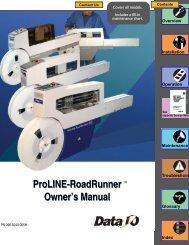 RoadRunner Owner's Manual - Data I/O Corporation