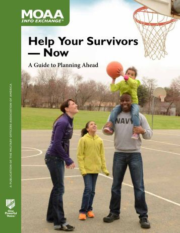 Help Your Survivors — Now - Military Officers Association of America