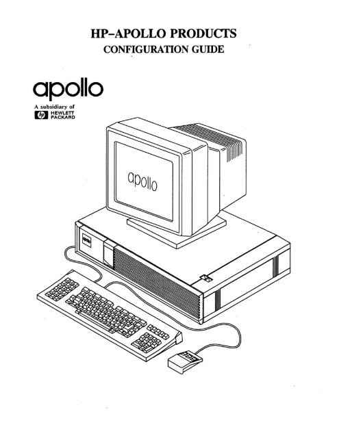 HP-Apollo Workstations