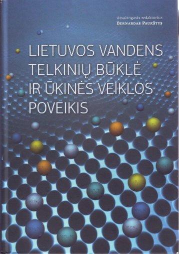 Lietuvos vandens telkinių būklė ir ūkinės veiklos poveikis