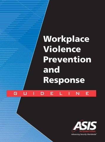 Workplace Violence Prevention and Response - the North Dakota ...
