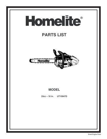 d 3300 33cc d 3 rh yumpu com Old Homelite Chainsaw Manuals Homelite Super 2 Chainsaw Manual