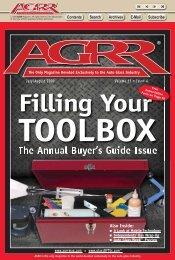 July/August 2009 - AGRR Magazine