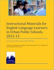 Instructional Materials for English Language Learners in Urban ...