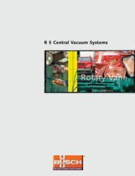 Industrial Vacuum Pumps Brochure - Compressed Air Equipment